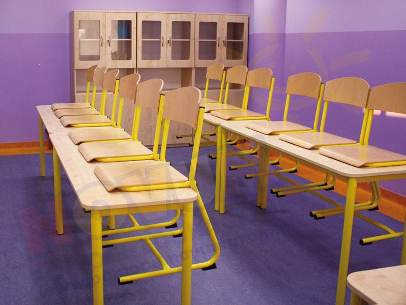 Novum Stół Classic - nieregulowany - żółty