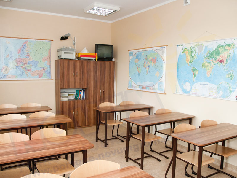Novum Stół Classic regulowany 40-59 - fioletowy