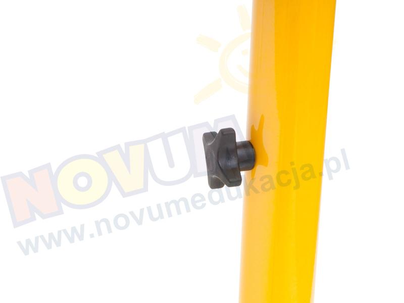 Novum Stół Classic regulowany 59-76 - żółty