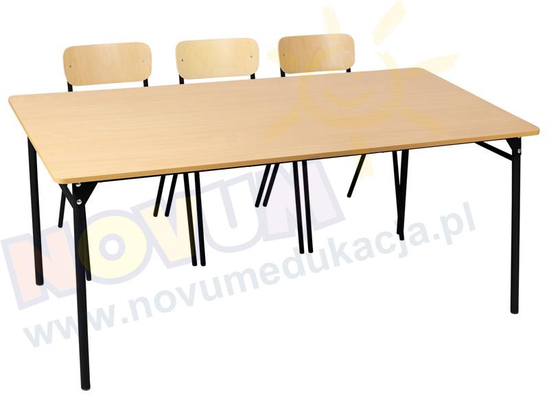 Novum Stół LT3 59 cm - czarny