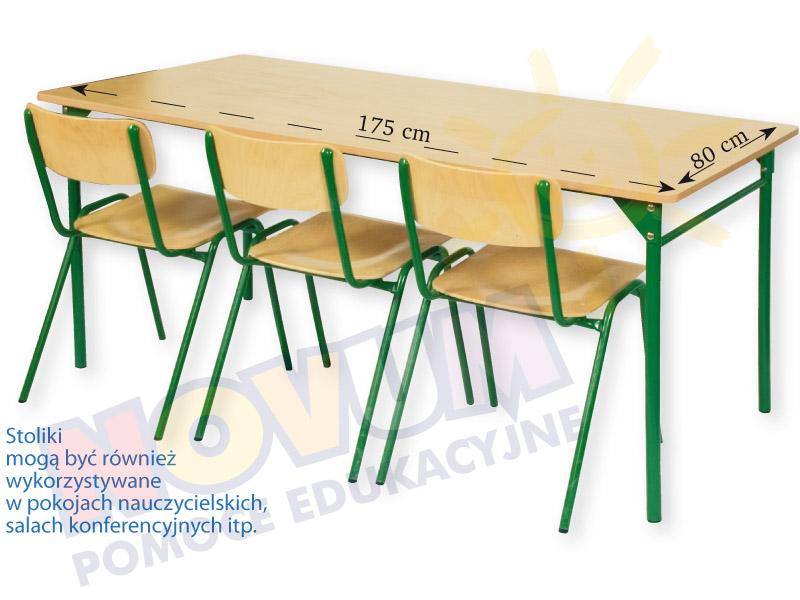 Novum Stół LT3 64 cm - zielony