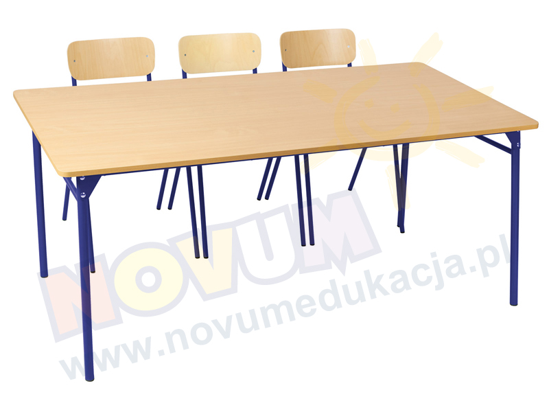 Novum Stół LT3 71 cm - niebieski