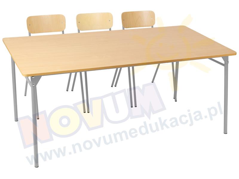 Novum Stół LT3 76 cm - aluminiowy