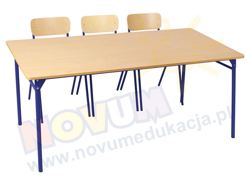 Novum Stół LT3 76 cm - niebieski