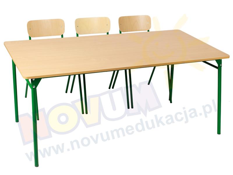 Novum Stół LT3 76 cm - zielony