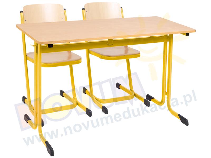 Novum Stolik MST 71 żółty