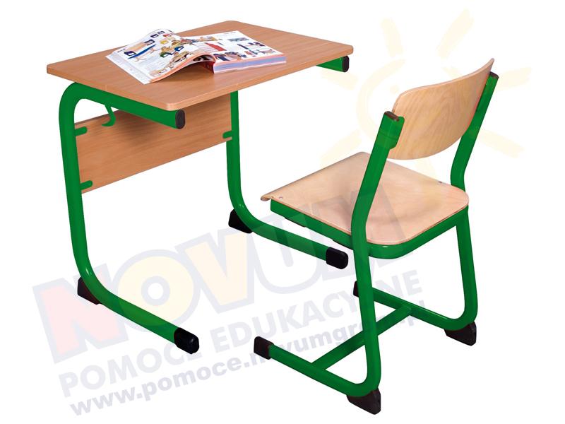 Novum Stolik poj. typ LT 64 - zielony