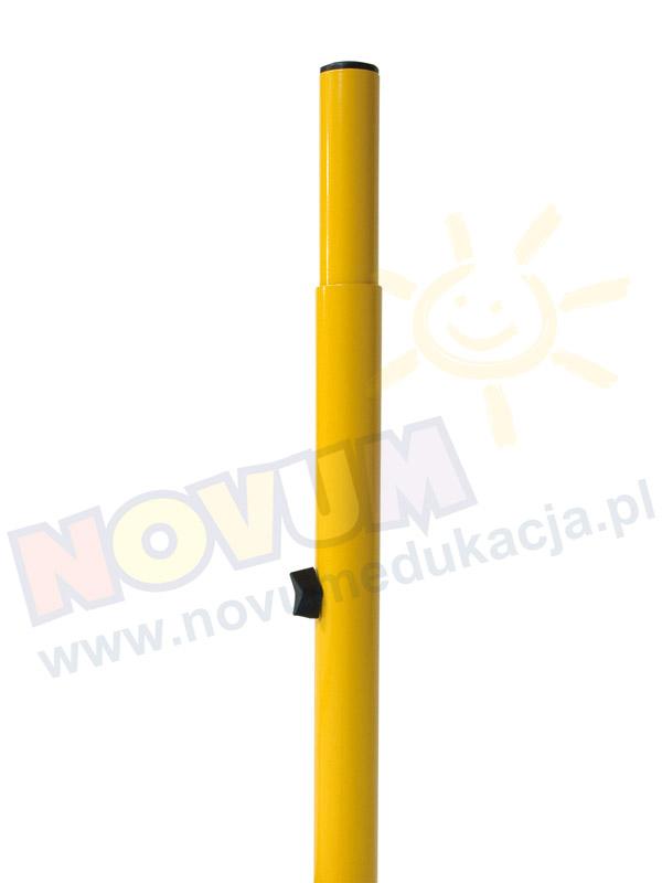 Novum Stolik przedszkolny regulowany 40-59 cm. Novum - żółty