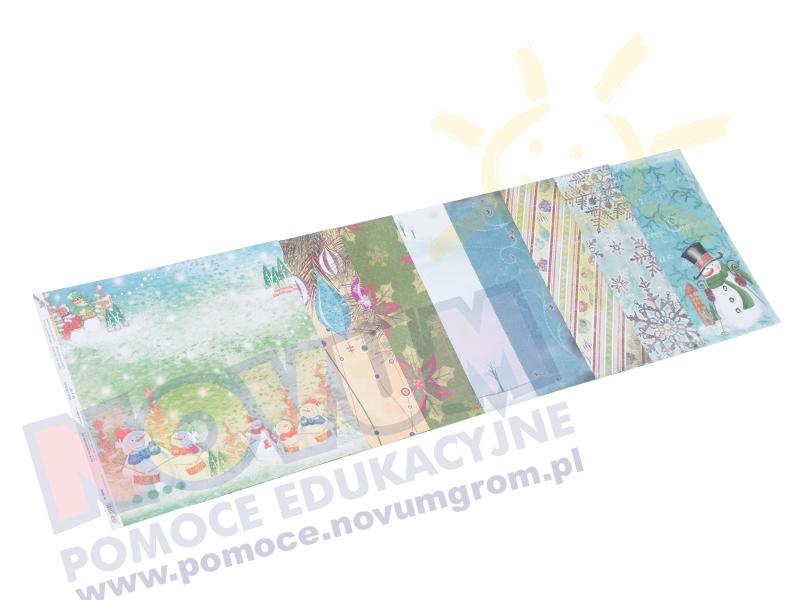 Novum Święta - zestaw kolorowego papieru