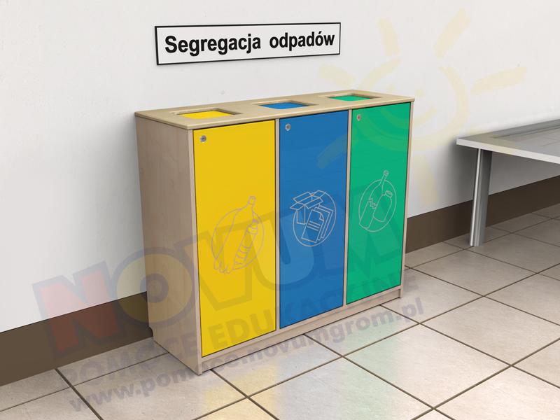 Novum Szafka do segregacji śmieci