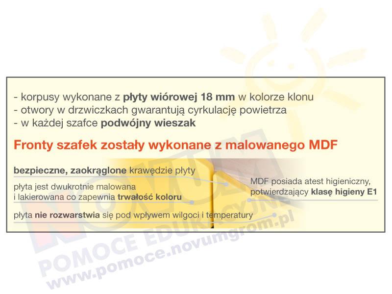 Novum Szafka Tulipan 4