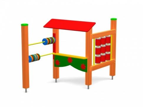 Elmo Place Zabaw Tablica potrójna 001