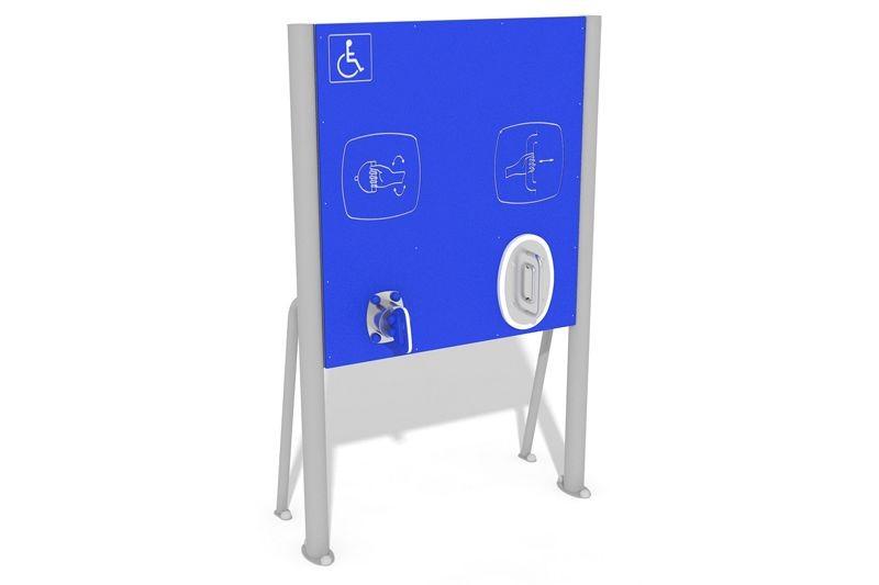 Inter Play Tablica z uchwytami - wersja dla osób na wózkach (AO-027)