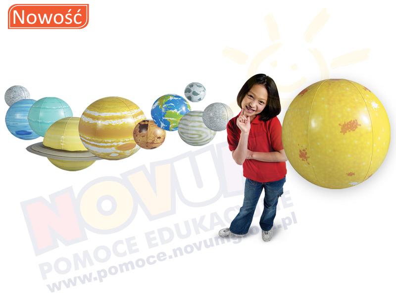 Novum Układ sloneczny - dmuchany model