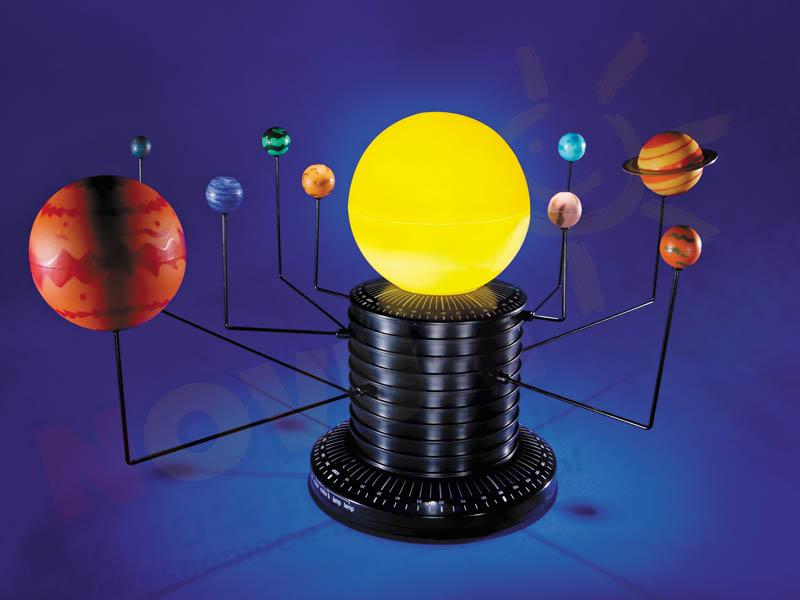 Novum Układ Słoneczny - model przestrzenny