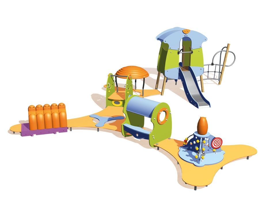 Educarium Urządzenie zabawowe Tiboo J3931