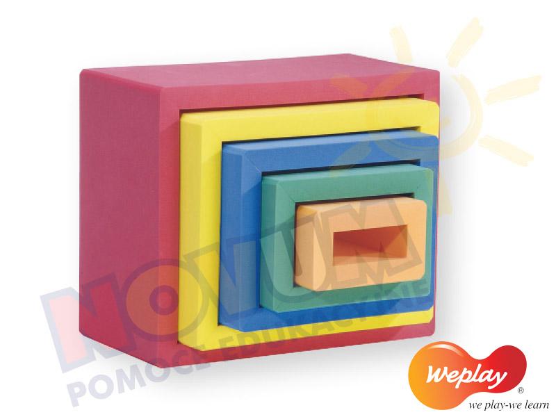 Novum Weplay Magiczne, kolorowe ramki z pianki