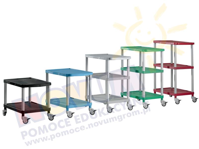 Novum Wózek KM4 - szary