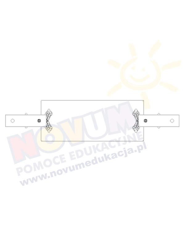 Novum Zawiesie z siedziskiem huśtawkowym gumowym