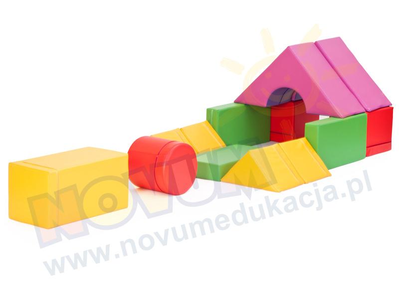 Novum Zestaw klocków piankowych III z pokrowcem Miniwieża