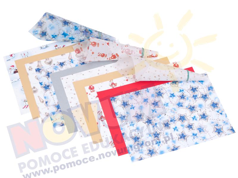 Novum Zestaw papieru dekora.światecznego
