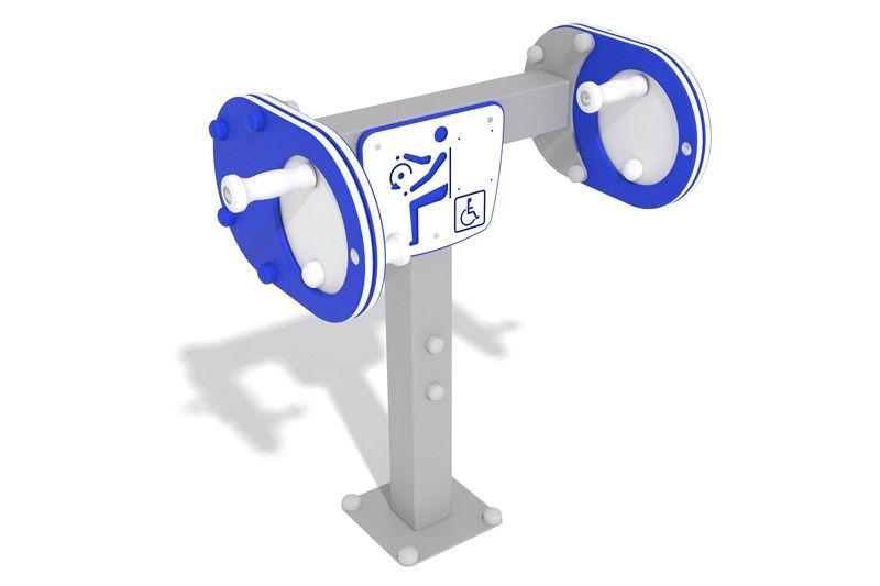Inter Play Zestaw podwójny młynek - ćwiczenie rąk - wersja dla osób na wózkach (AO-003)