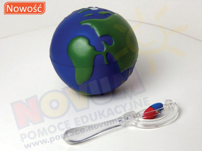 """Novum Zestaw """"Magnetyczny glob"""""""