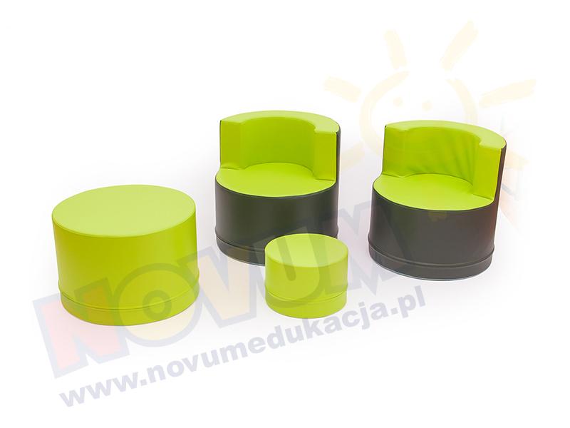 Novum Zestaw wypoczynkowy zielony