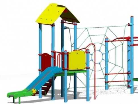 Elmo Place Zabaw Zestaw zabawowy Versus 2