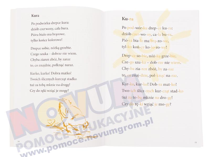 Novum Zwierzaki figuraki - ćw. ułatwiające czytanie i pisane dla dziec